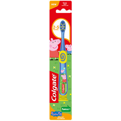 Colgate Smiles 2-5 years Toothbrush Peppa Pig