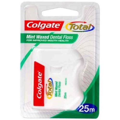 Colgate Total Mint Waxed Floss