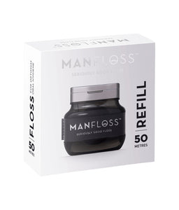 Manfloss Refill 1 x 50m Roll BLACK Tape
