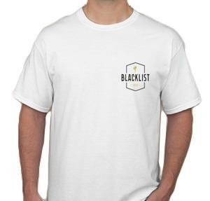 Blacklist 101 Mens T-shirt - White