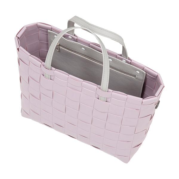 Soft Lilac Shopper by Handed By