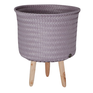 Mauve Mid Basket Recycled Plastic