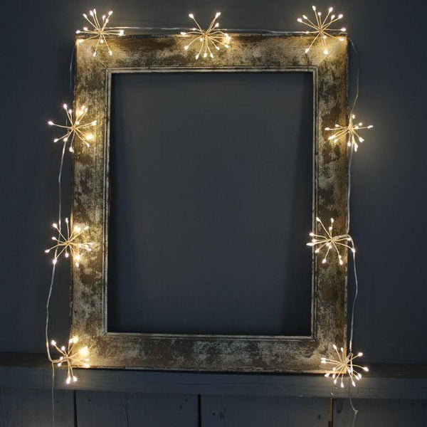 Silver Starburst Lights by Lightstyle London