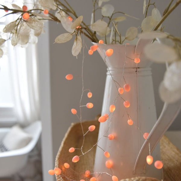 Teardrop LED Peach Lighting