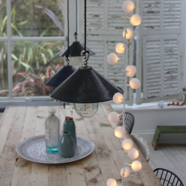 Pom Pom White Indoor Lights