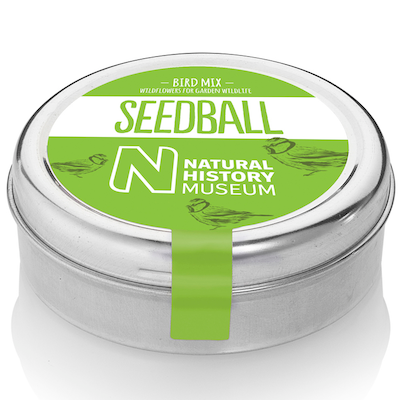 Natural History Museum seedball mix