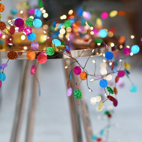 Confetti Fairy Lights