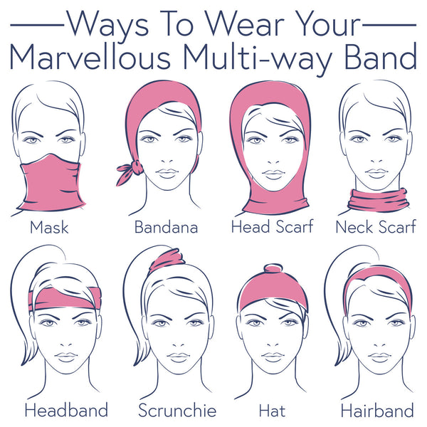 Ways To Wear Your Multi-way Band