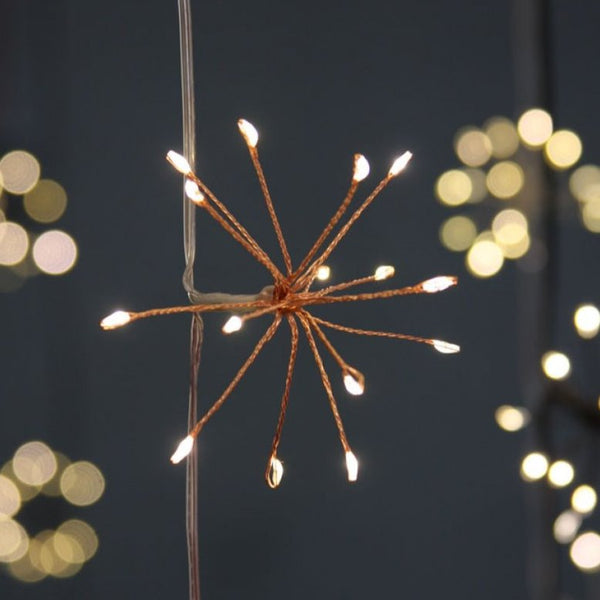 Copper Lightstyle London Starburst Garland