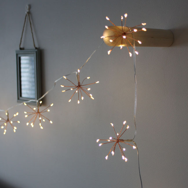 Starburst Garland Lighting