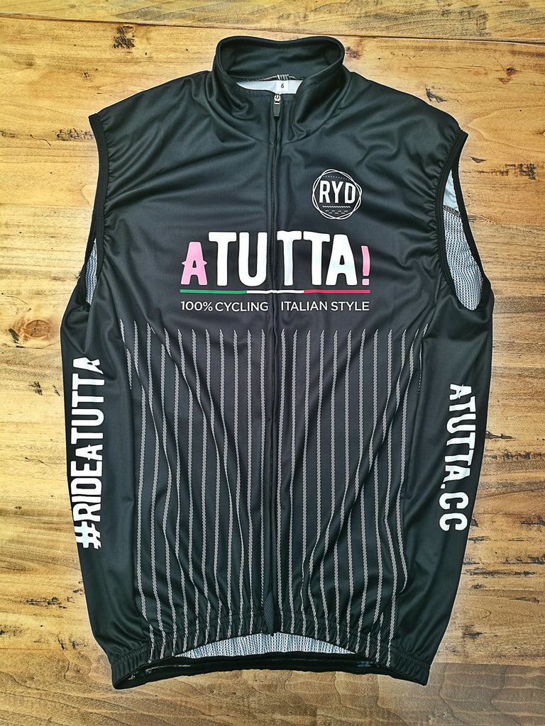 aTUTTA! Gilet Wind Proof Black