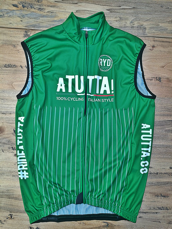 aTUTTA! Gilet Wind Proof Green