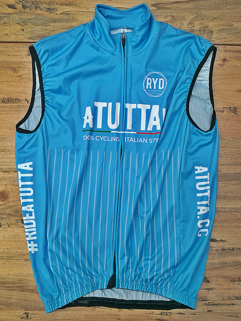 aTUTTA! Gilet Wind Proof Blue