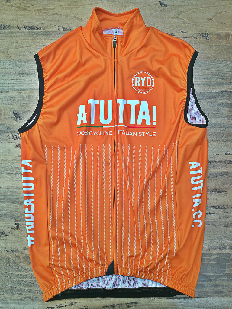 aTUTTA! Gilet Wind Proof Orange