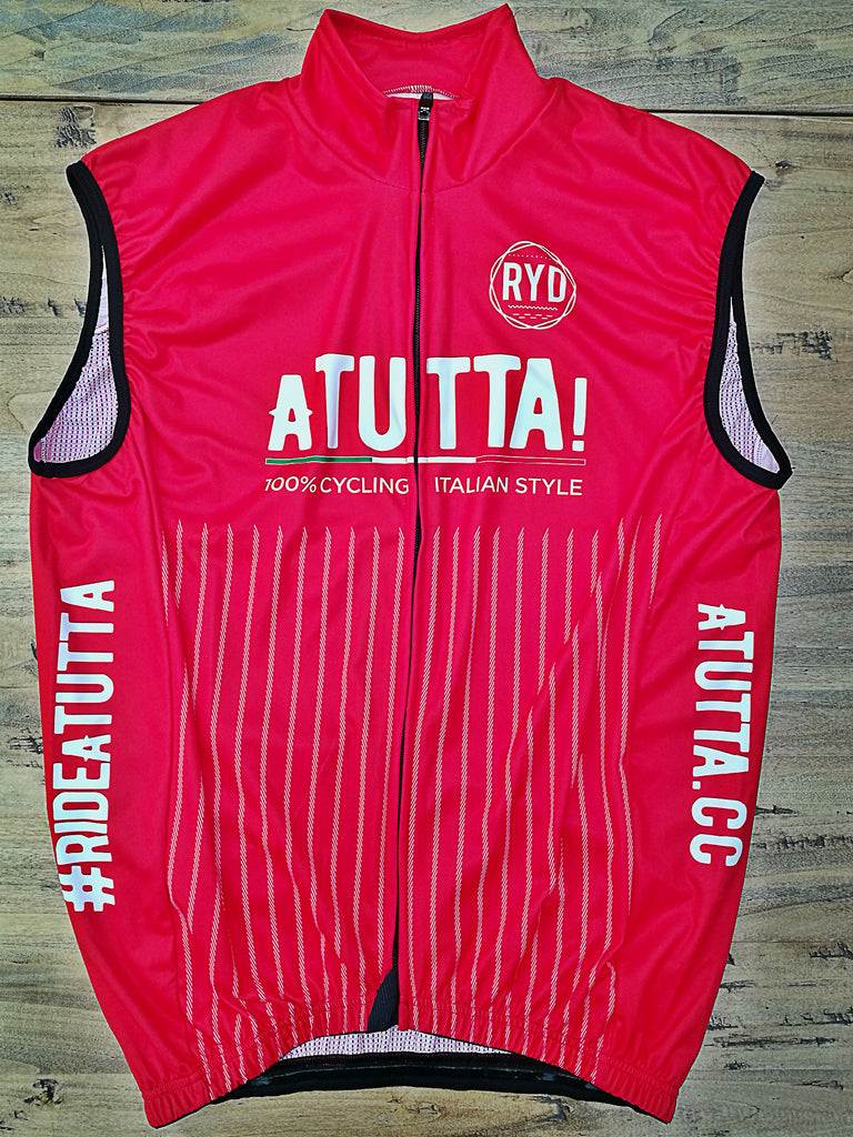aTUTTA! Gilet Wind Proof Red