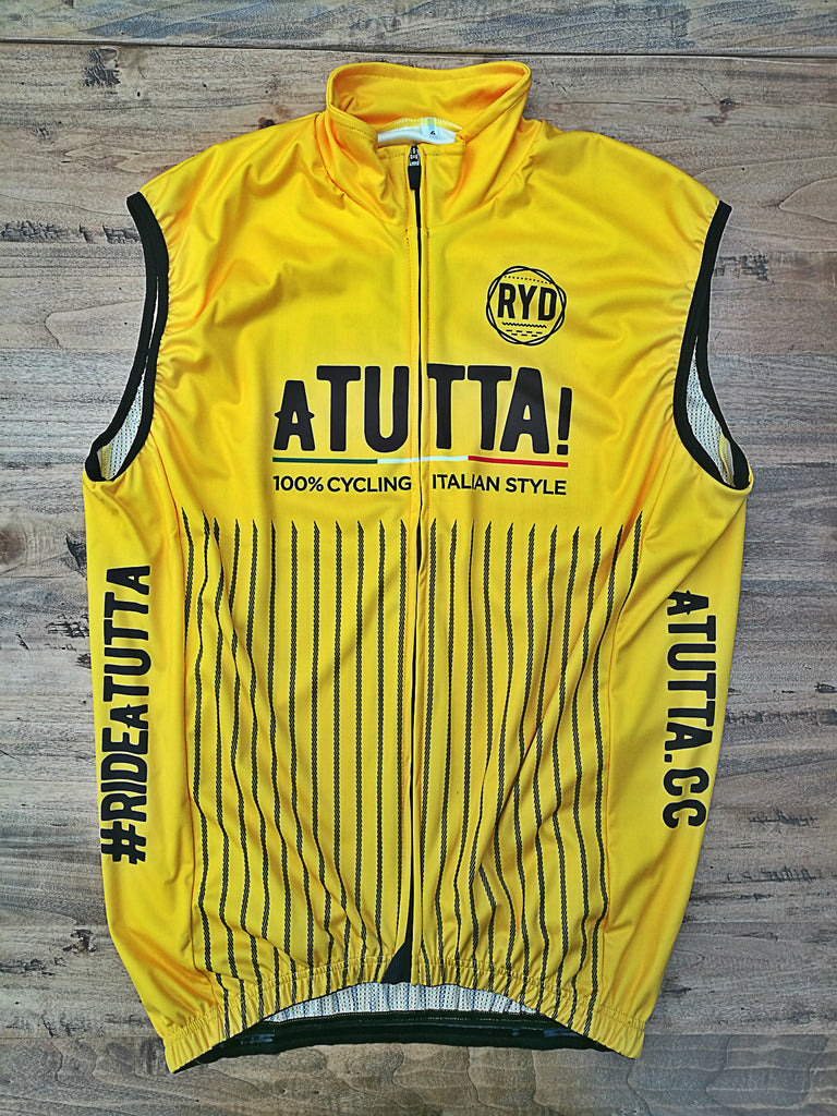 aTUTTA! Gilet Wind Proof Yellow