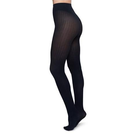 Thumbnail for ALMA RIB TIGHTS - Strumpfhose in Rippenoptik