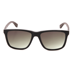BASIC URACH - Sonnenbrille___Color---balck oak/black