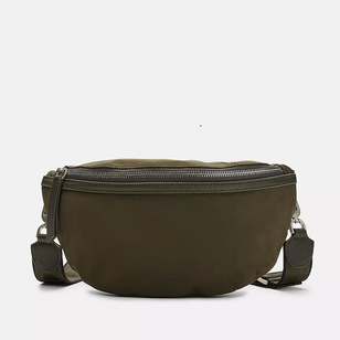 BELT BAG - Eco Aware Bauchtasche aus recyceltem Nylon___Color---Oliv