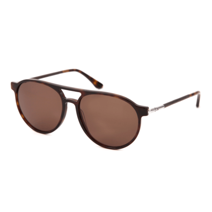 BURGAU - Sonnenbrille___Color---black oak/havana