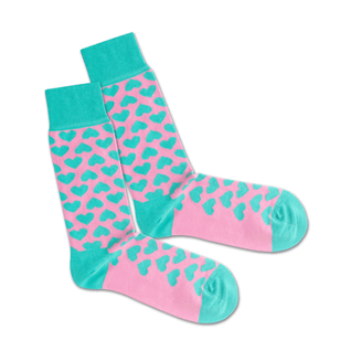 CRAZY IN LOVE - Socken aus Bio-Baumwolle
