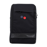 CUBIK MEDIUM - Rucksack aus recyceltem Plastik___Color---Licorice Black