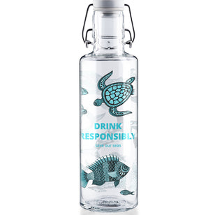 DRINK RESPONSIBLY - 0,6l Glasflasche