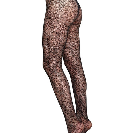 EDITH LACE TIGHTS - Spitzenstrumpfhose - Recyceltes Polyamid