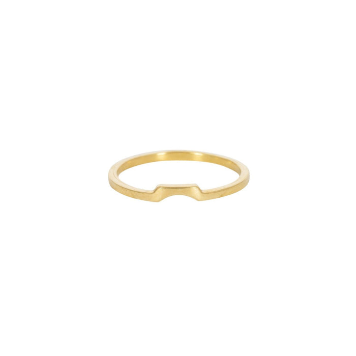 ELGIVA - Ring aus recyceltem Sterlingsilber___Color---Gold