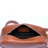 ESSENTIAL EVE BAG - Umhängetasche aus Leder___Color---Cognac