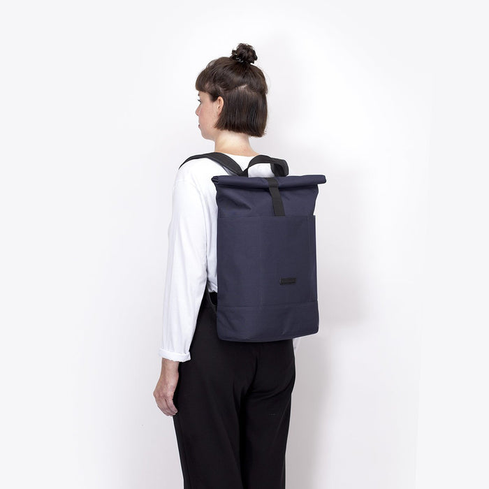 HAJO STEALTH - Rolltop Rucksack aus recyceltem Polyester___Color---Navy