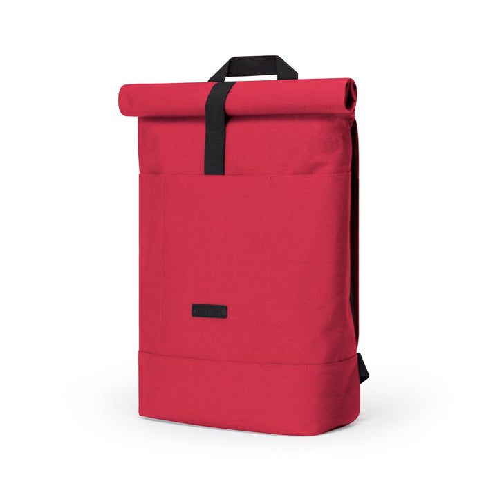 HAJO STEALTH - Rolltop Rucksack aus recyceltem Polyester___Color---Red