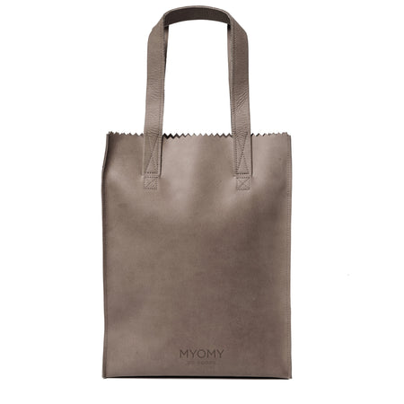 LONG HANDLE ZIP - Shopper aus Leder