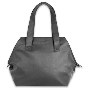 nuuwaï - veganer Shopper Vegan - LOVIS___Color---Schwarz