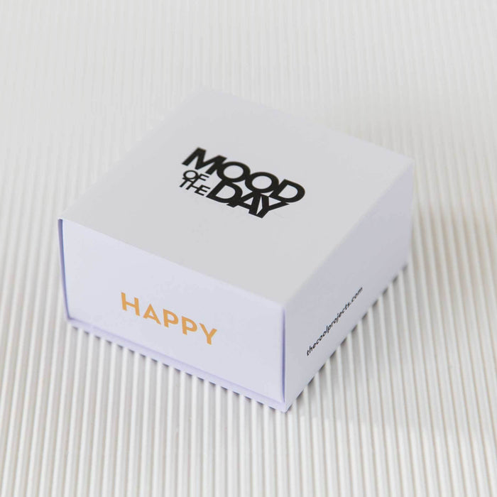 MOOD OF THE DAY HAPPY - Olivenöl-Seife (3x 60g)