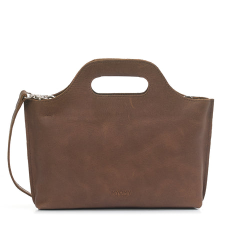 MY CARRY BAG MINI - Handtasche aus Leder