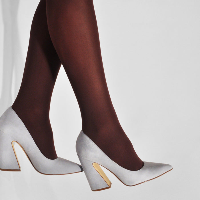 OLIVIA PREMIUM TIGHTS - Strumpfhose aus recyceltem Polyamid___Color---Bordeaux___Material---Recyceltes Polyamid