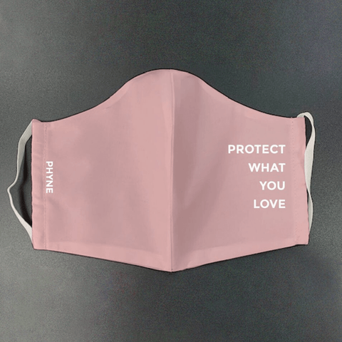 Thumbnail for PROTECT WHAT YOU LOVE - Gesichtsmaske aus Bio-Baumwolle