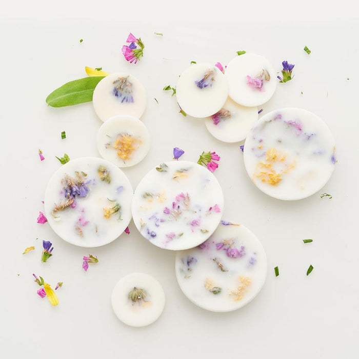 SCENTED SOY WAX ROUNDS - Fester Duft aus Sojawachs___Color---Wildblumen