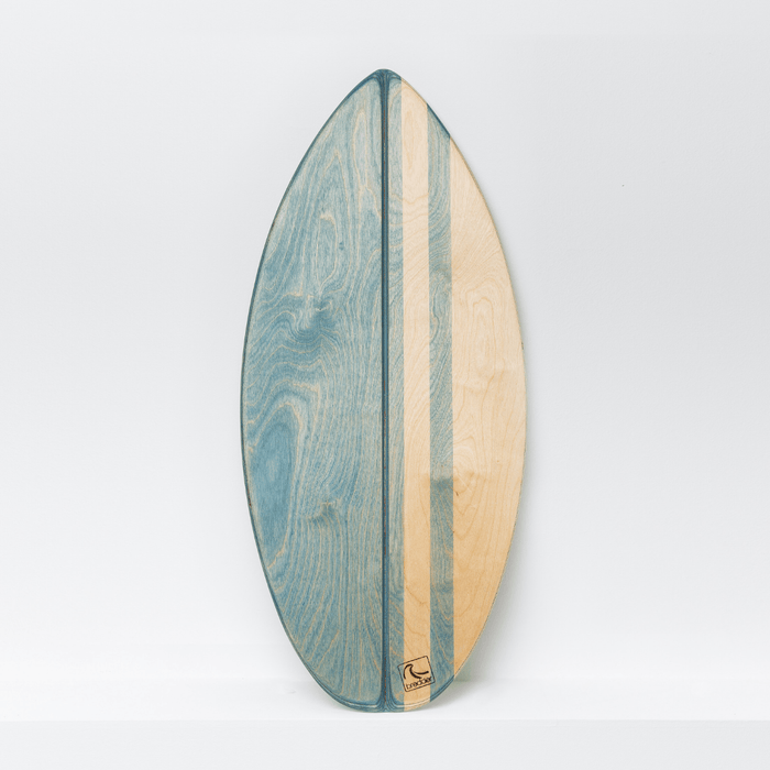 SHORTY - Balance Board mit spitzer Front___Material---Holz___Color---Aquana