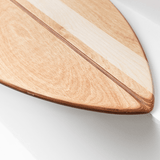 SHORTY - Balance Board mit spitzer Front___Material---Holz___Color---Fahari