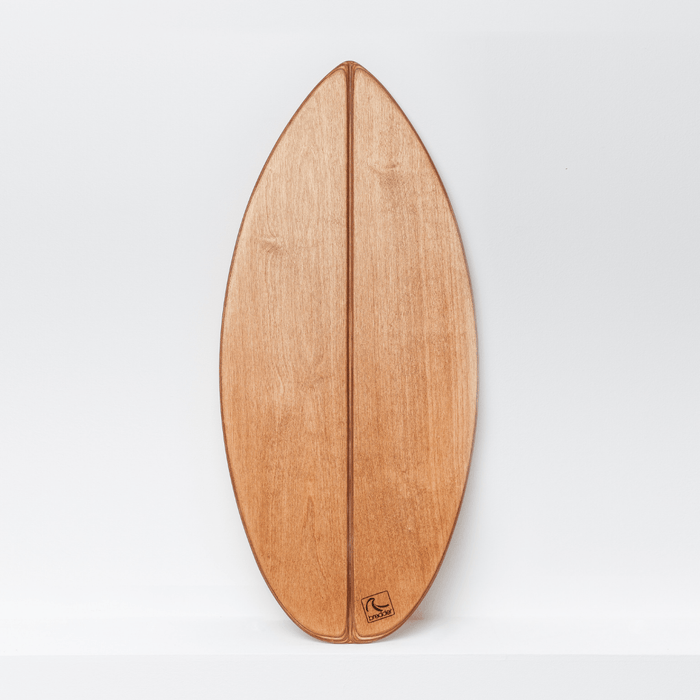 SHORTY - Balance Board mit spitzer Front___Material---Holz___Color---Riptide