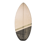 SHORTY - Balance Board mit spitzer Front___Material---Holz___Color---Tei