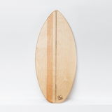 SHORTY - Balance Board mit spitzer Front___Material---Holz___Color---Shaka