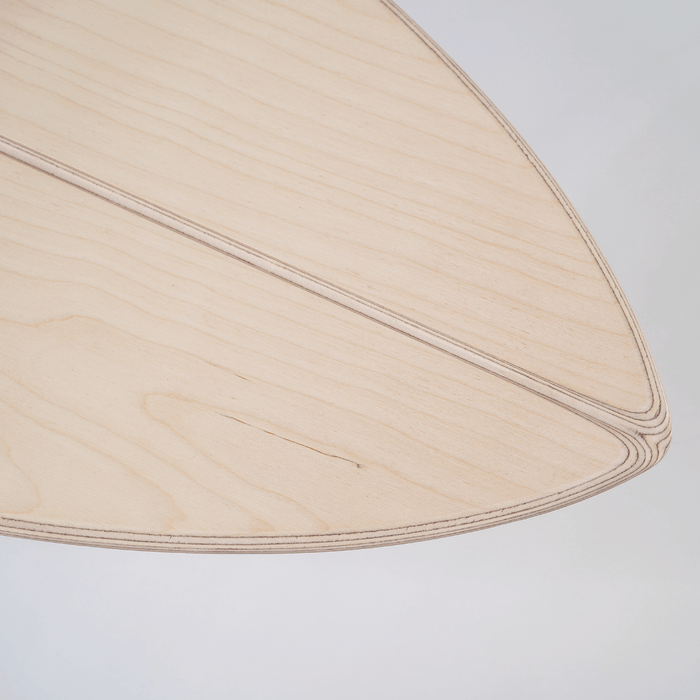 SHORTY - Balance Board mit spitzer Front___Material---Holz___Color---Hapalua