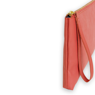 TELIA - vegane Clutch___Color---Koralle