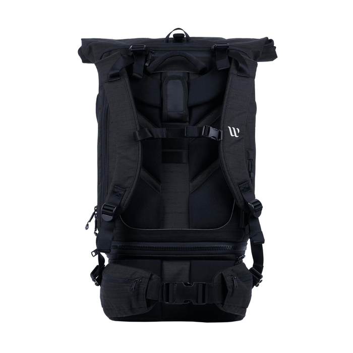 TRAVEL BACKPACK - 3 in 1 Reiserucksack___Color---Schwarz