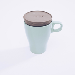 UDO - Coffee-to-Go-Mehrwegdeckel aus Recyclingkunststoff___Color---Grau