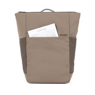 VERTIPLORER - Plain Backpack aus recyceltem Nylon___Color---Hammada Brown