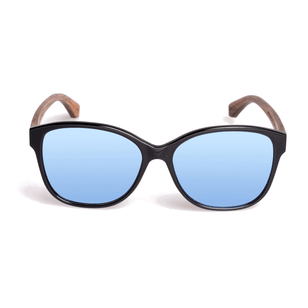 WALLERSTEIN - Sonnenbrille - Black Oak/Walnut___Color---Black Oak